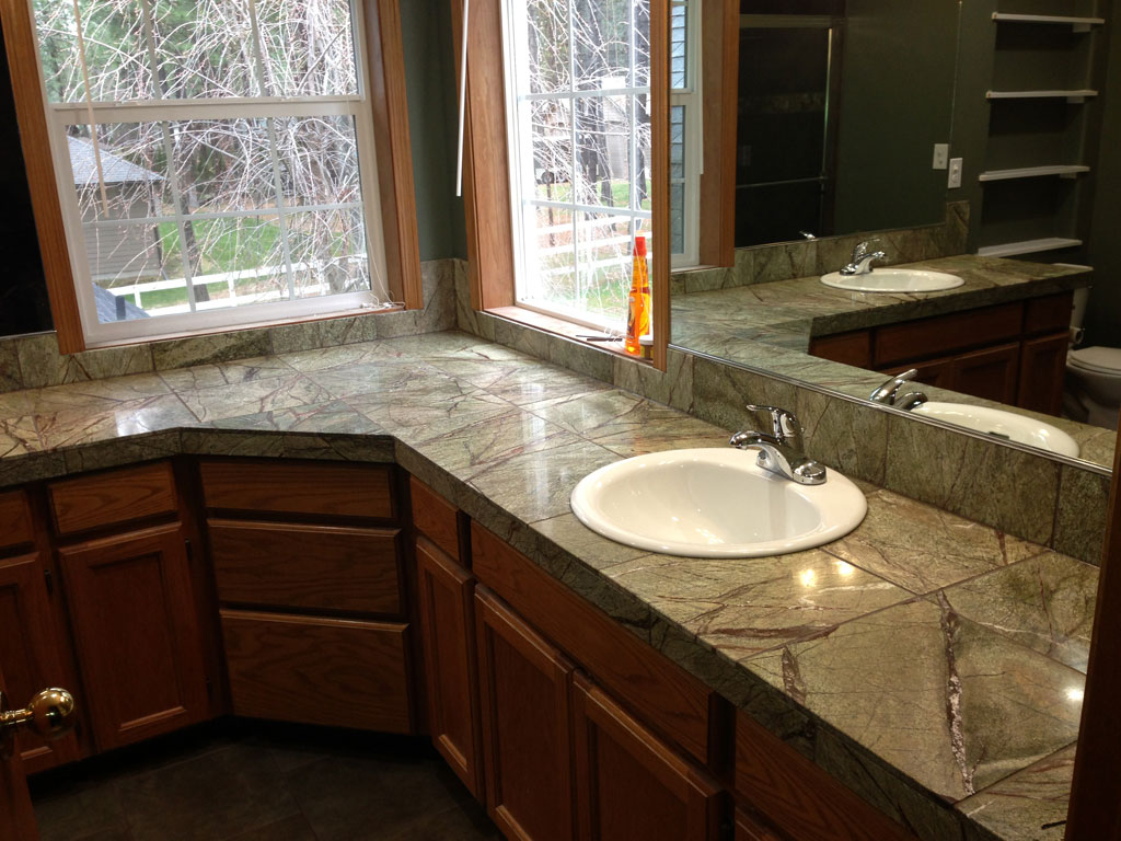 Master Bath Remodel Marble Counter