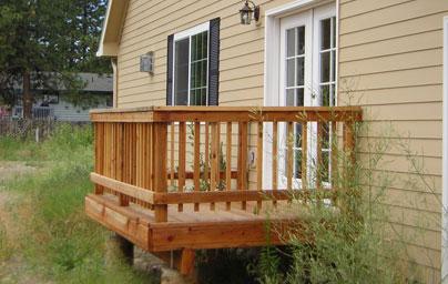 Exterior Wood Decks